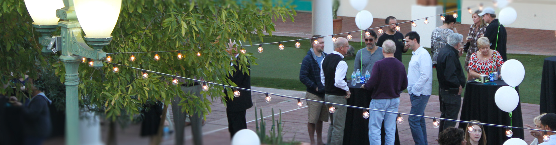 AZ Tech courtyard event