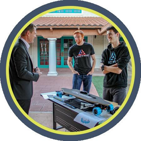 Business inside of the AZ TechCelerator